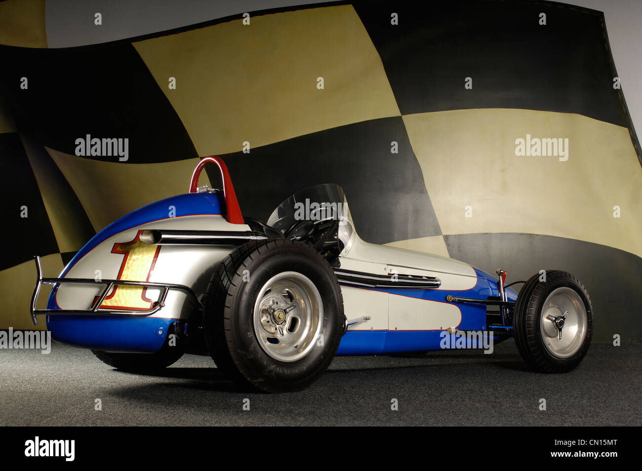 1962  Bromme Andy Gump Stock Sprint Car - Stock Image