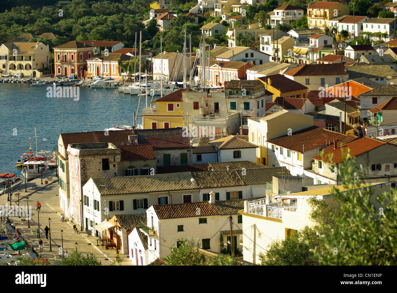 Gaios town, Paxos - Stock Image