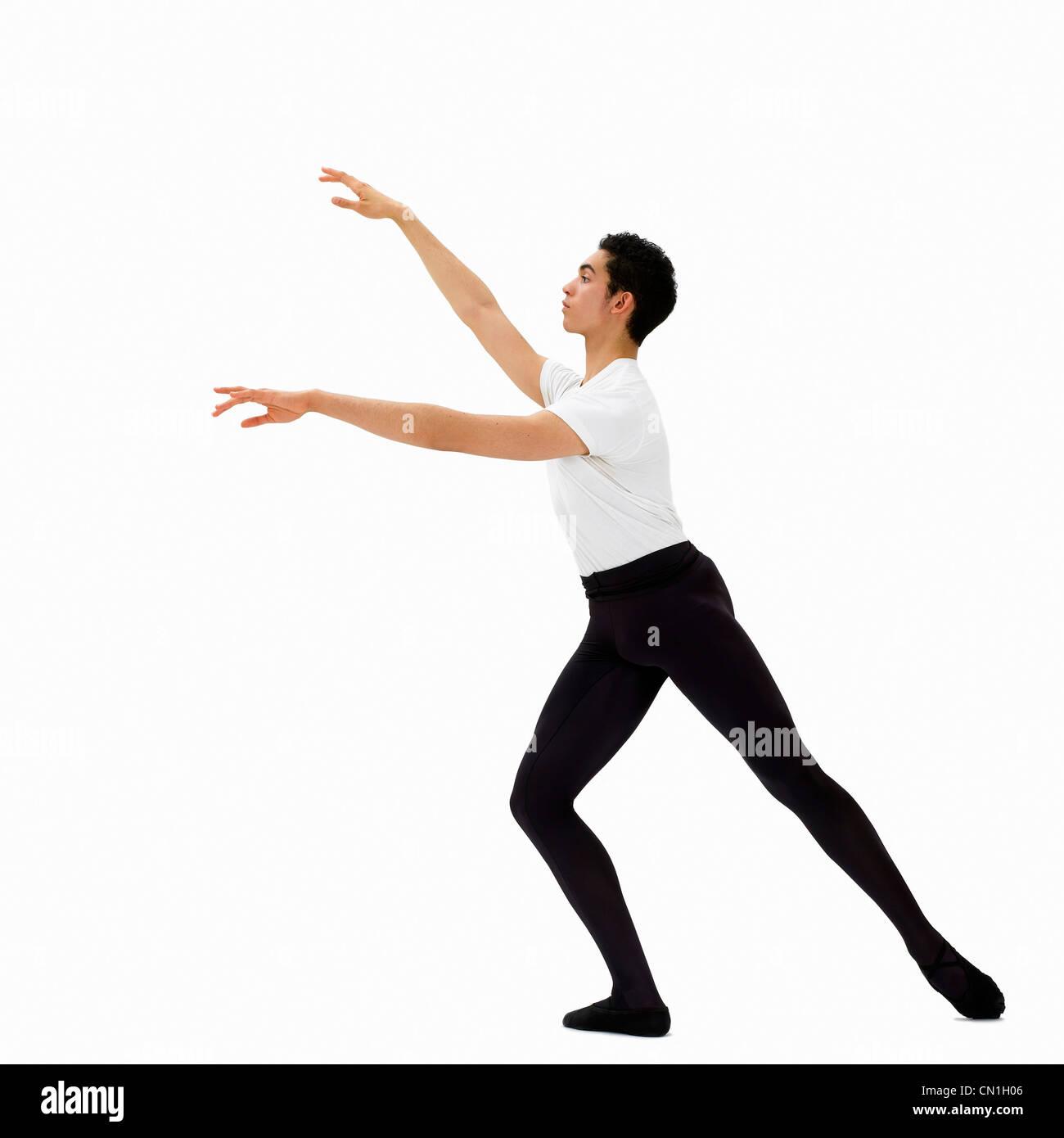 Male Ballet Dancer - Stock Image