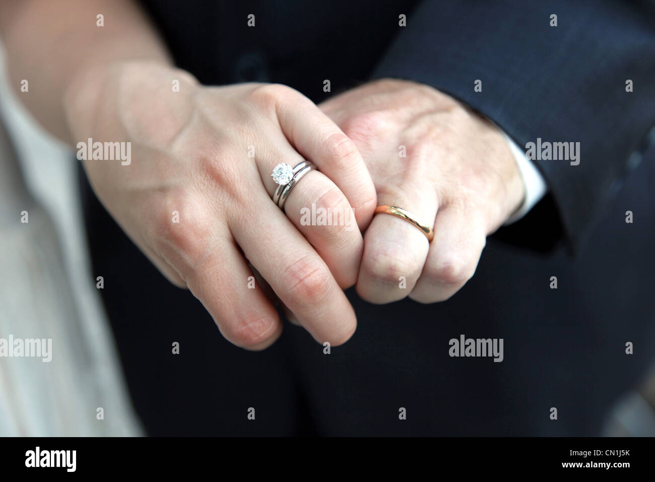 close ring wedding photo rings york bride holding and showing hands photos image stock engagement groom up new