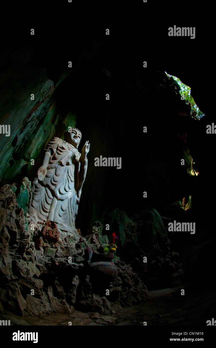 Tang Chon Dong caverns, Marble Mountain (Ngu Hanh Son), Vietnam - Stock Image