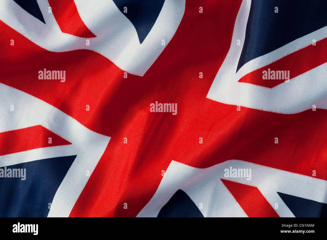 Union Jack flag - Stock Image