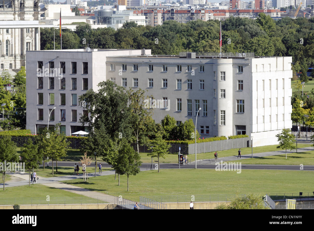 Berlin Schweiz Embassy Of Switzerland Swiss - Stock Image
