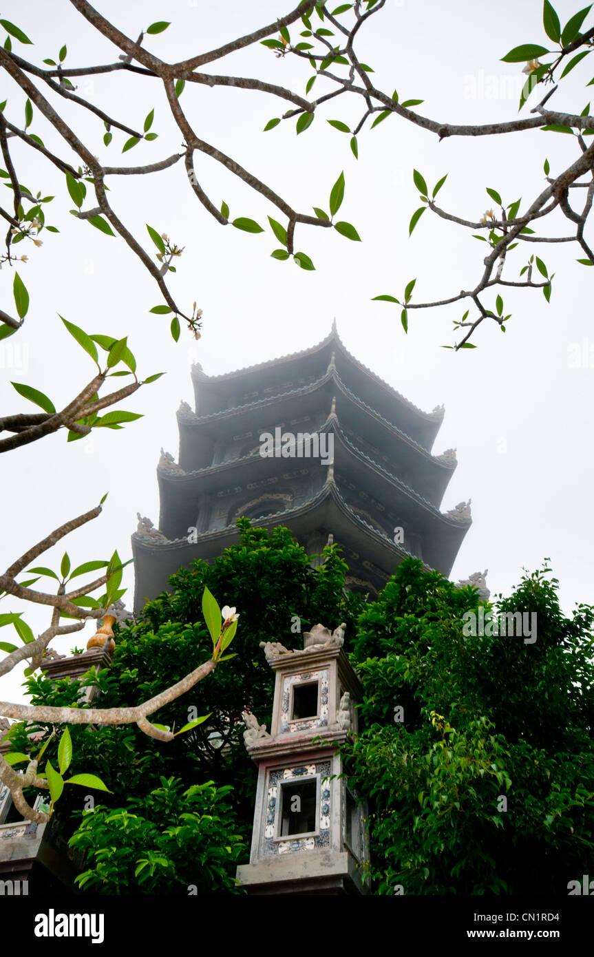 Xa Loi Pagoda, Thuy Son, Marble mountain (Ngu Hanh Son), Vietnam - Stock Image