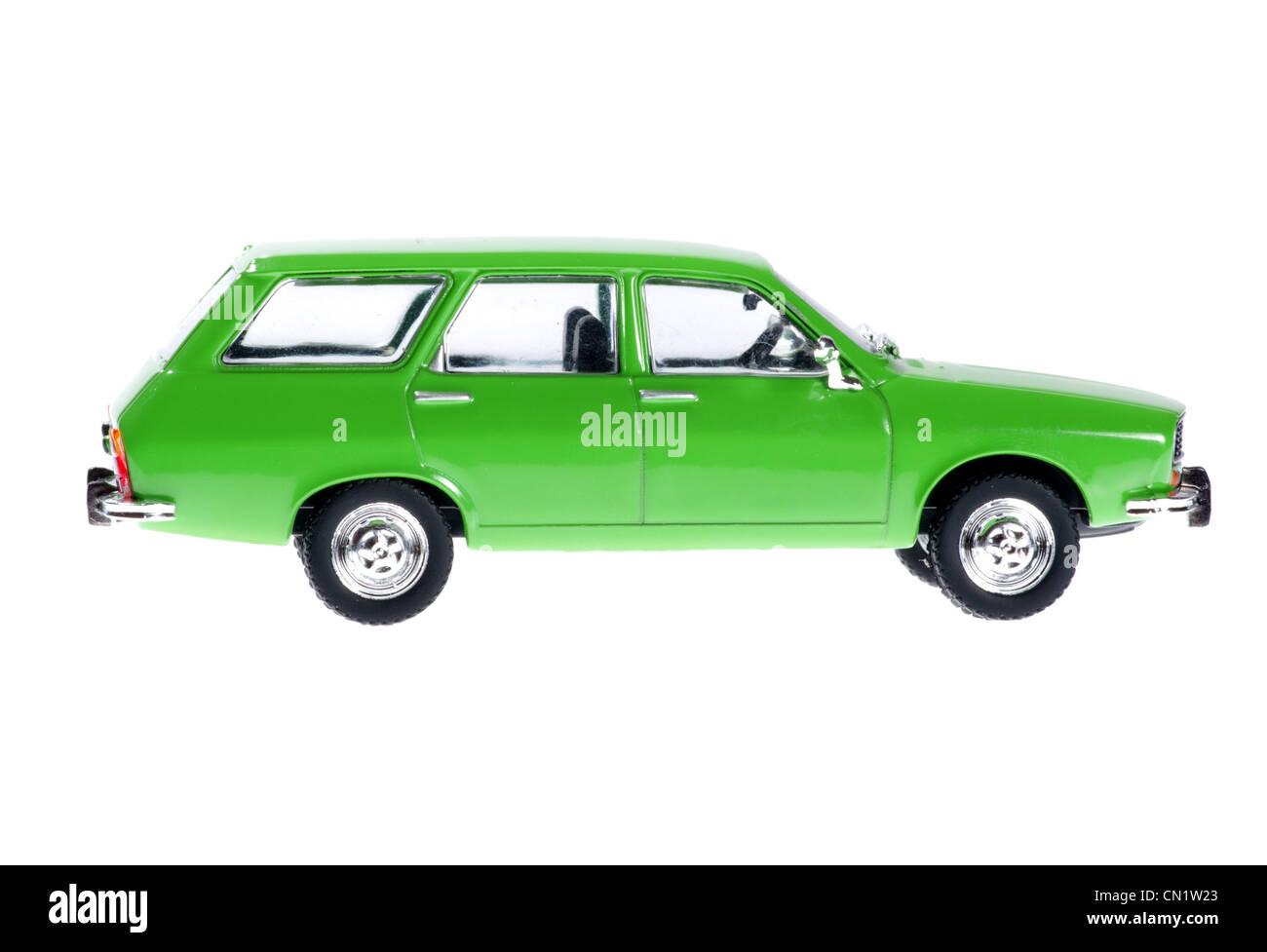 Dacia 1300 combi of model. - Stock Image