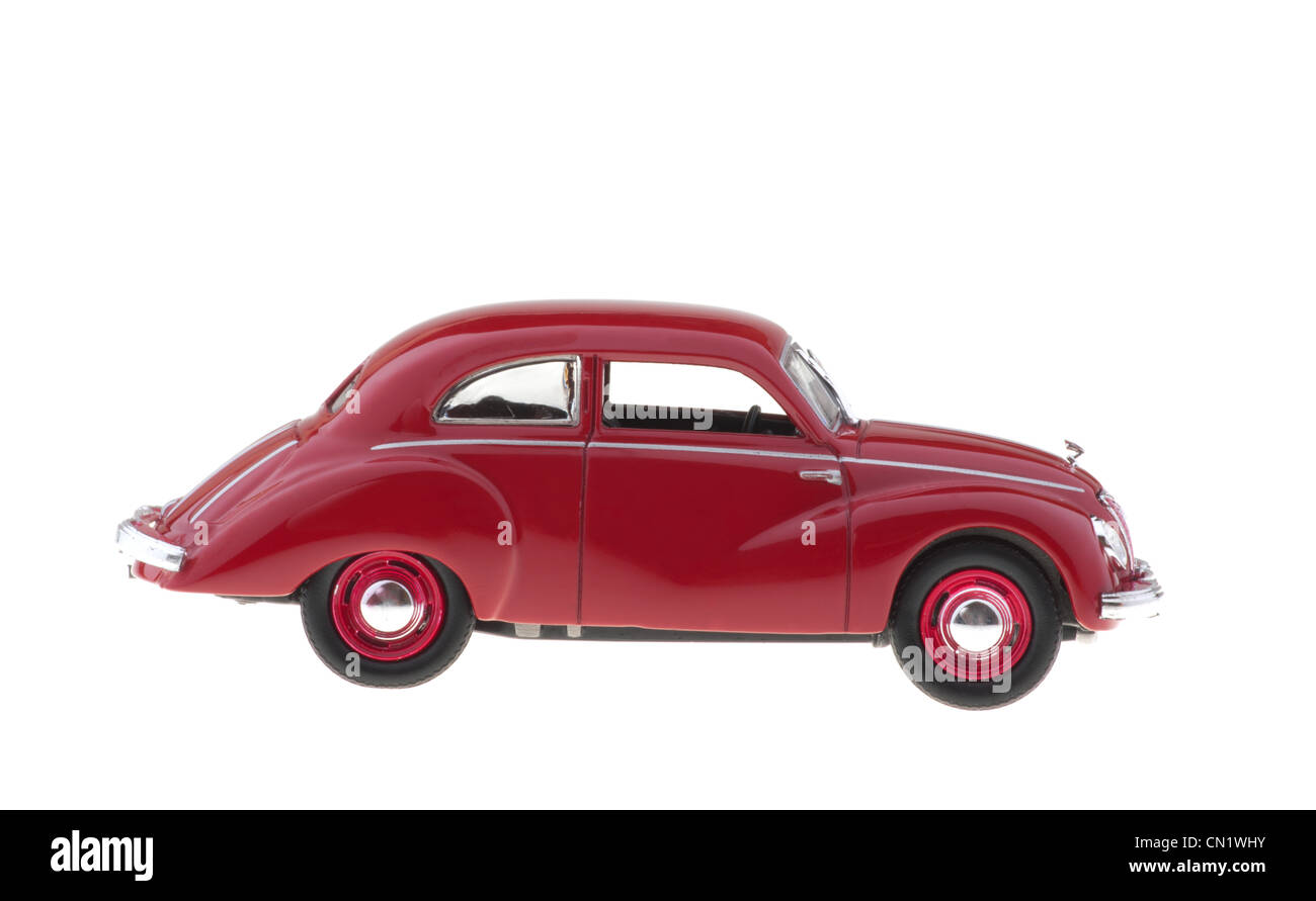 Ifa old car on white background. - Stock Image