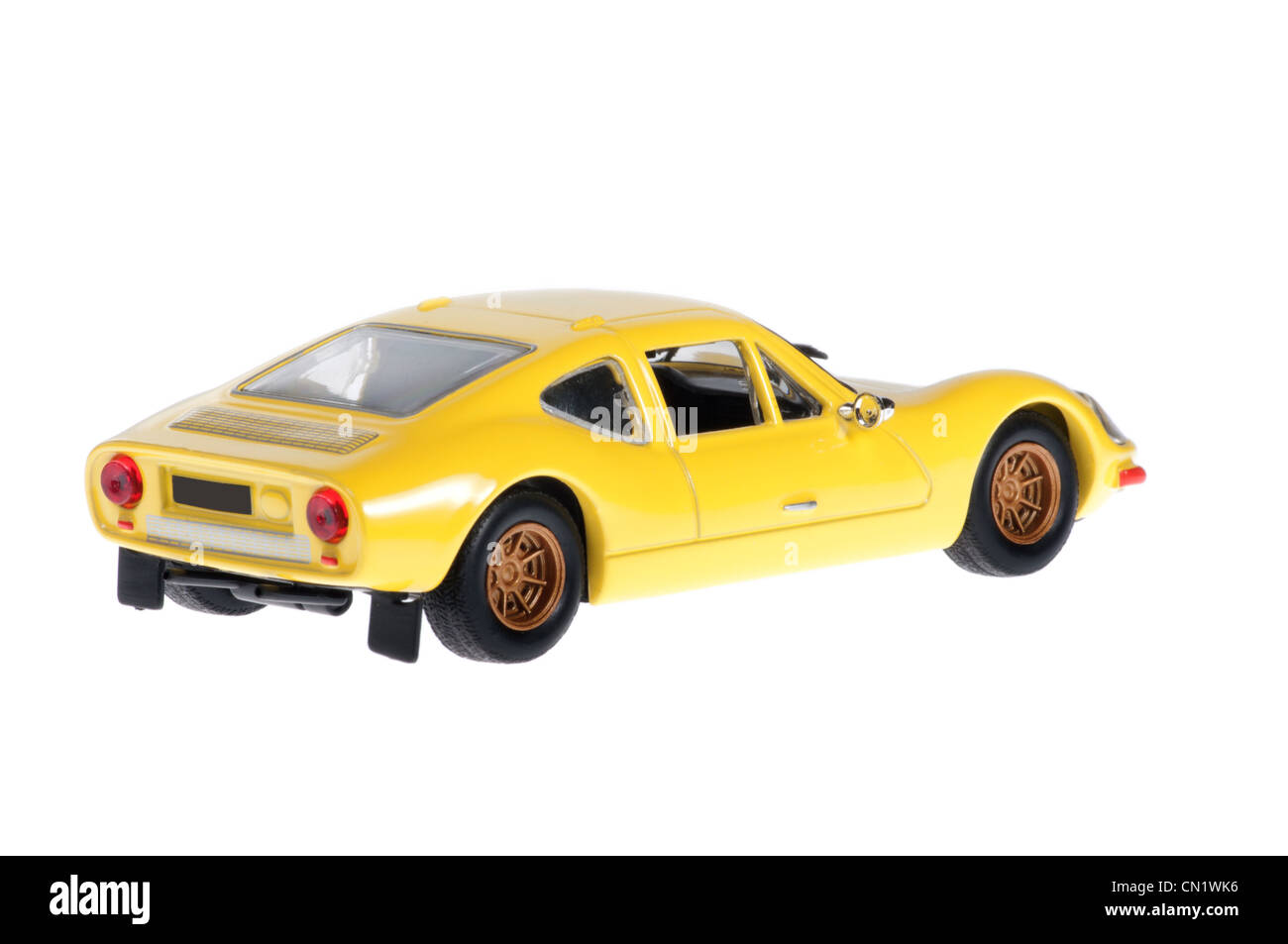 Yellow melkus sport old car. - Stock Image