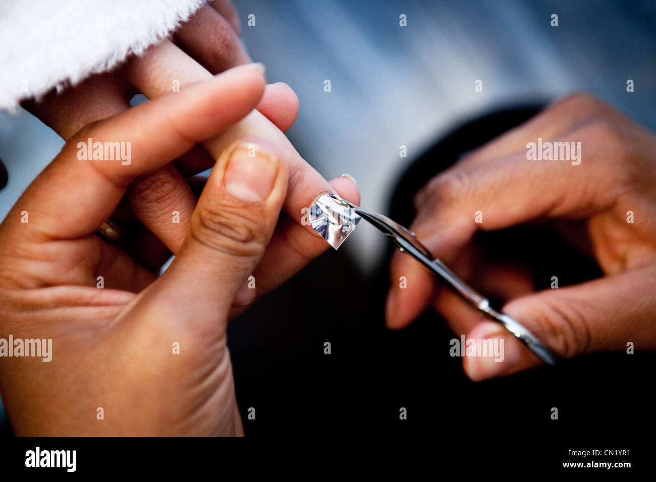 Fake Nails Stock Photos & Fake Nails Stock Images - Alamy
