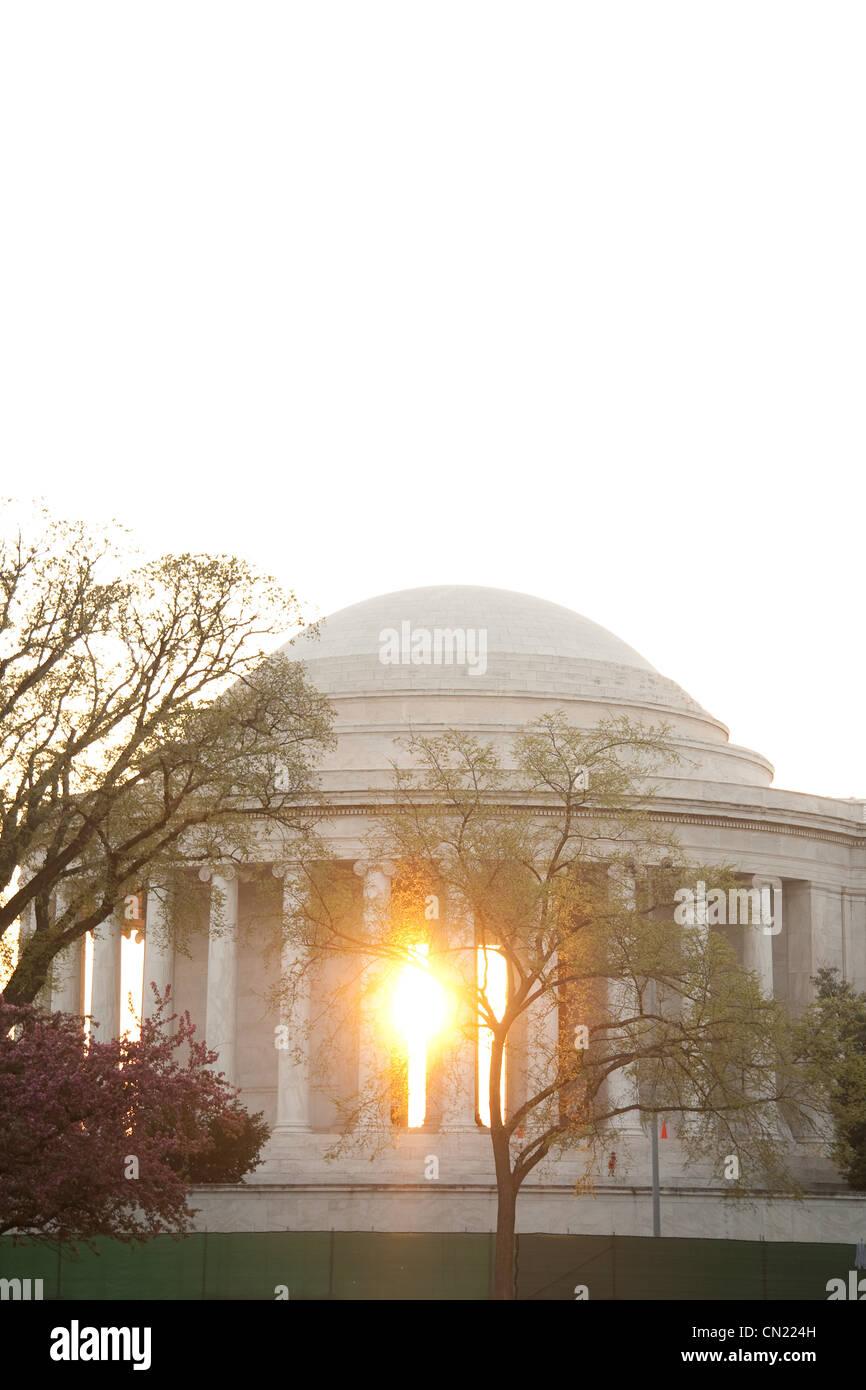 Jefferson Memorial, Washington DC, USA - Stock Image