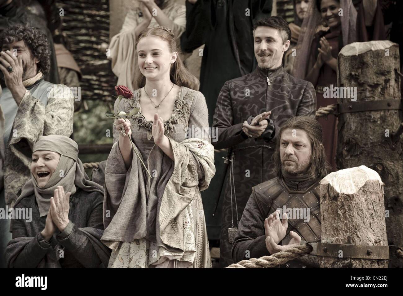 GAME OF THRONES (TV) (2011) SOPHIE TURNER, SEAN BEAN, 004 MOVIESTORE COLLECTION LTD - Stock Image