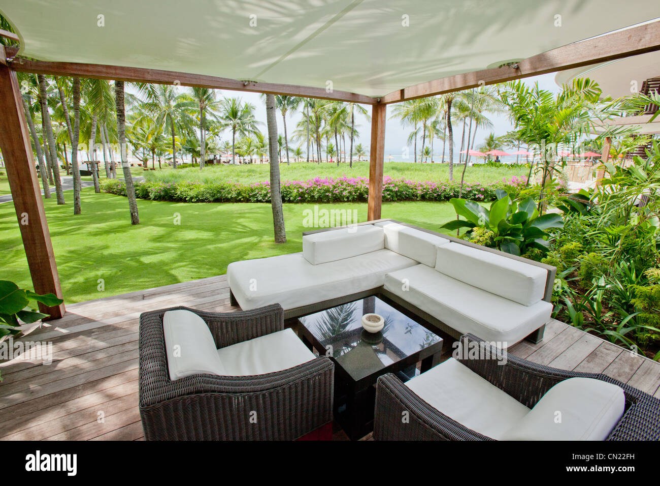 Club Med Bali Indonesia - Stock Image
