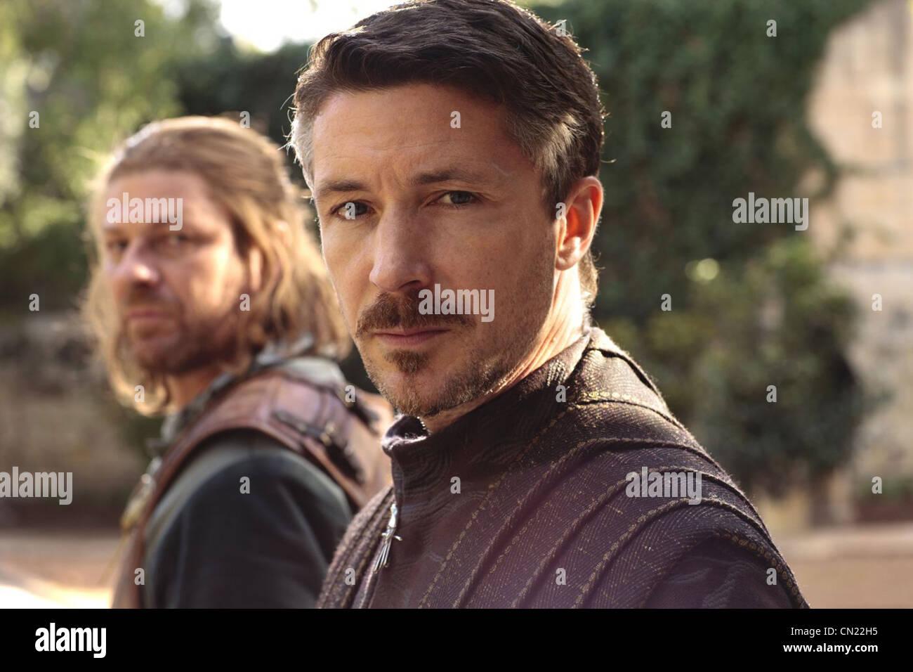 GAME OF THRONES (TV) (2011) SEAN BEAN, AIDAN GILLEN, 007 MOVIESTORE COLLECTION LTD - Stock Image