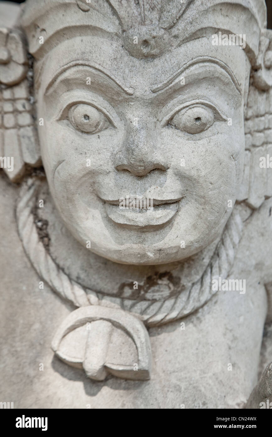 Stone carving Bali Indonesia - Stock Image
