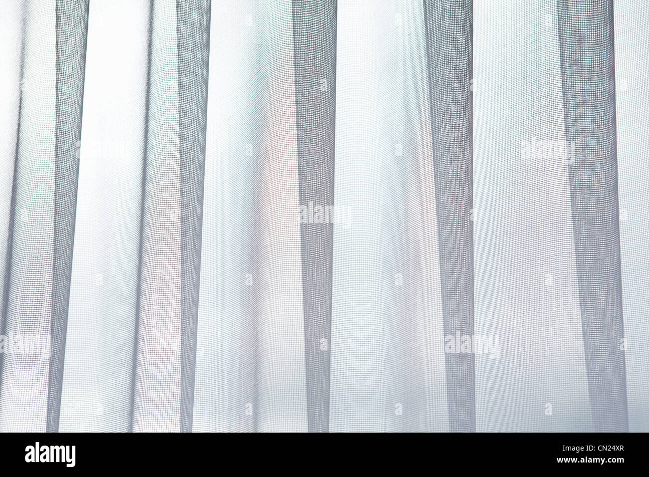 Net curtain, abstract - Stock Image