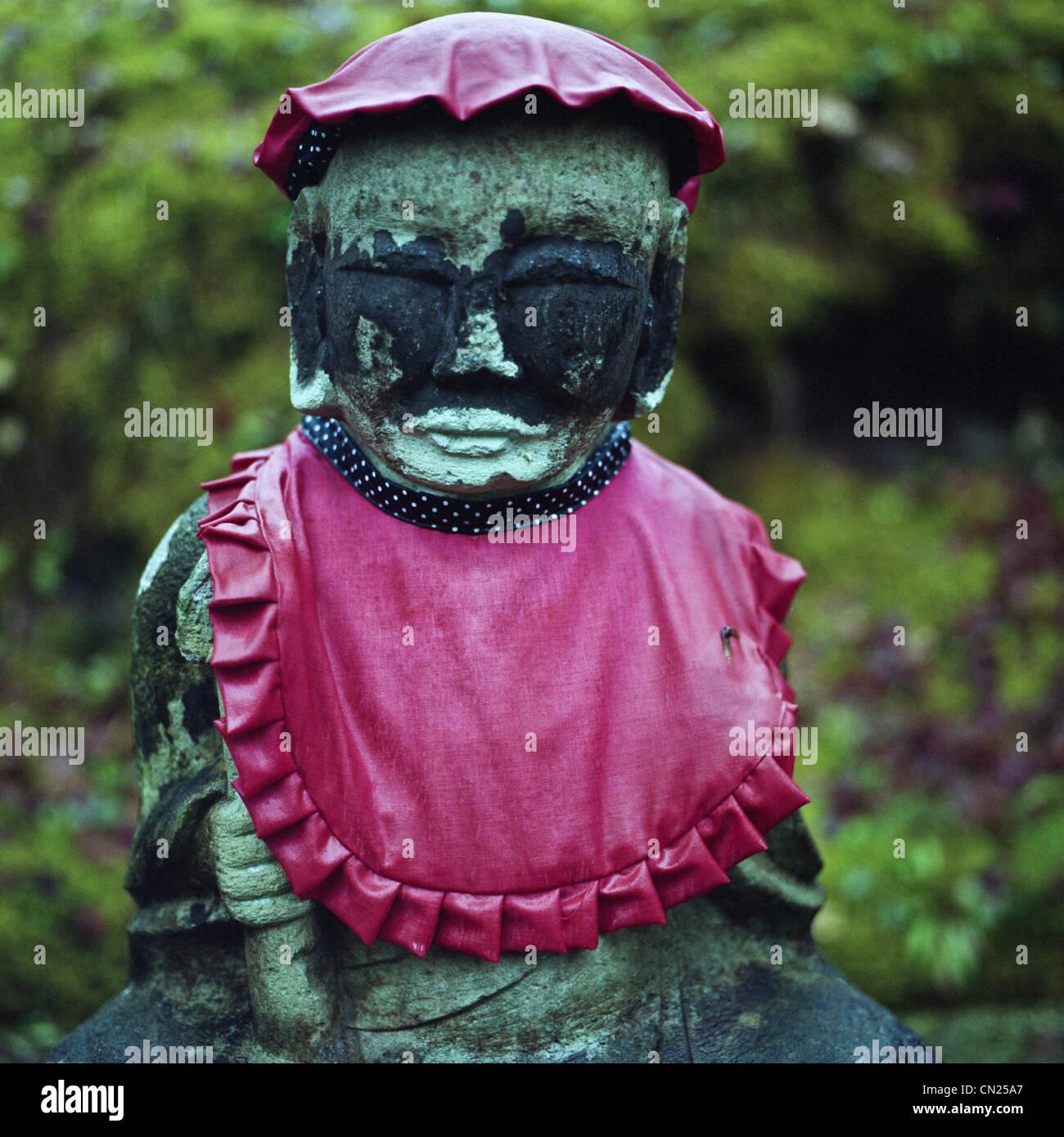 Buddhist deity Jizo - Stock Image