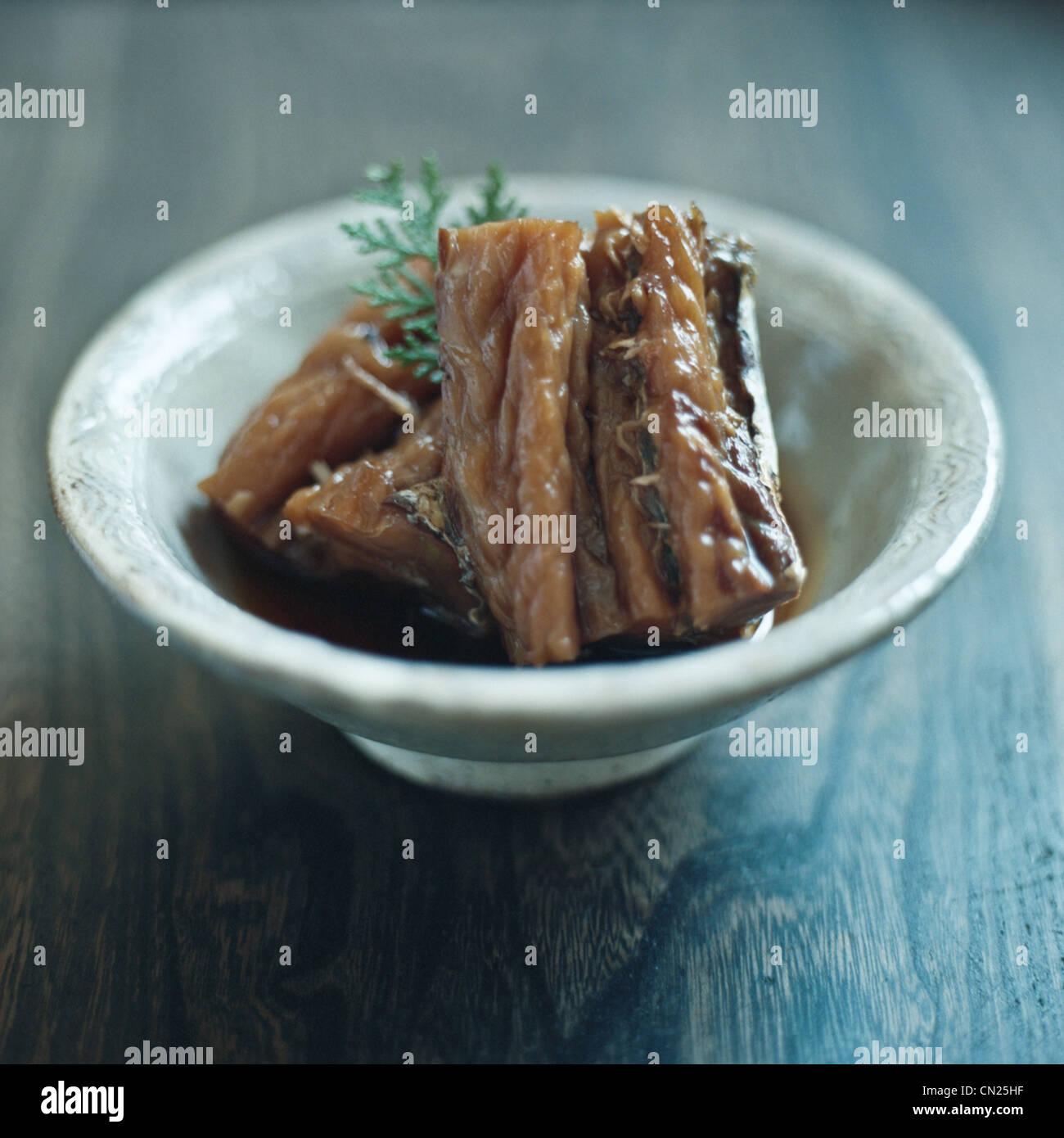 Japanese dish - Stock Image