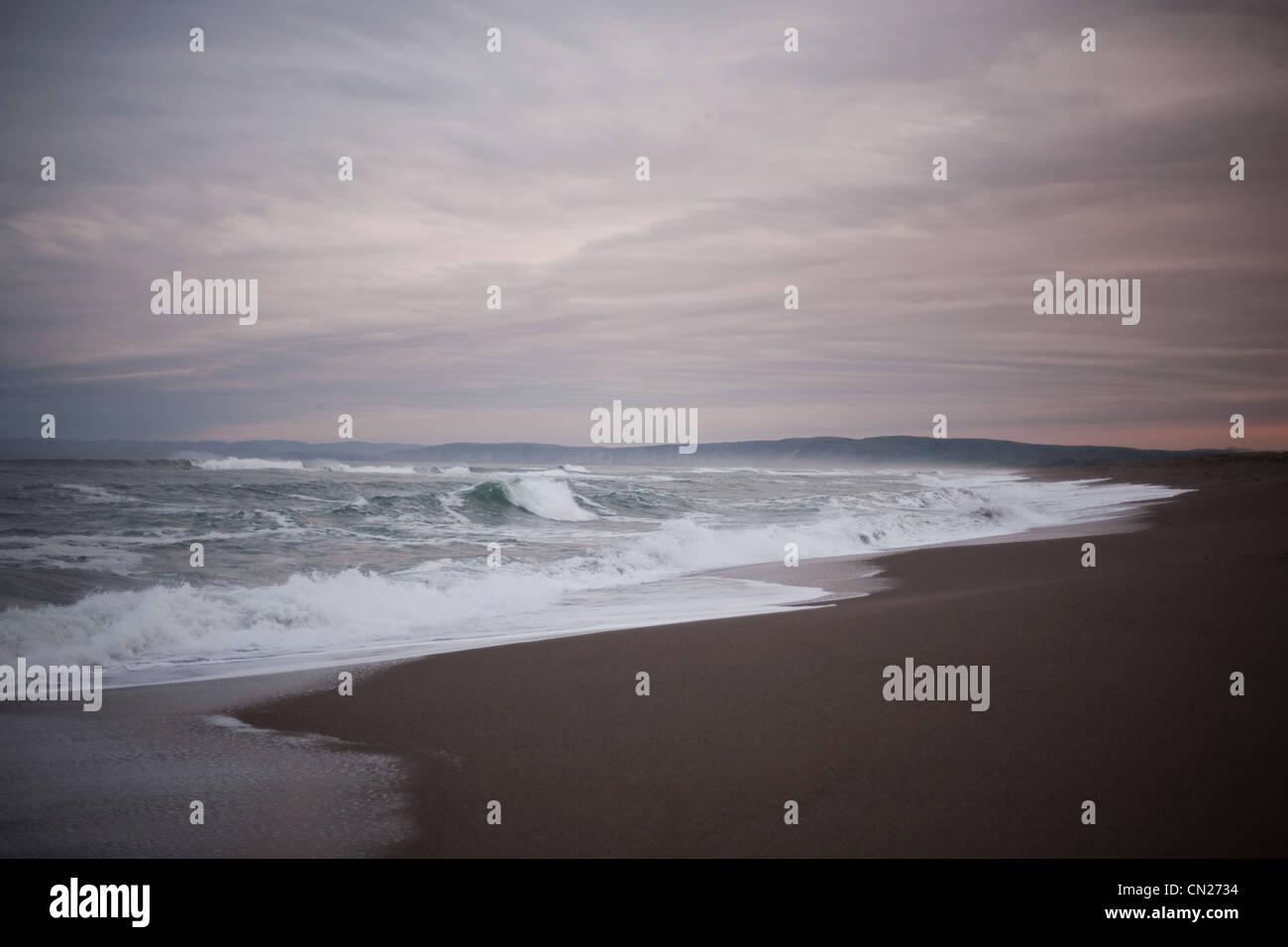 Californian coastline, USA - Stock Image