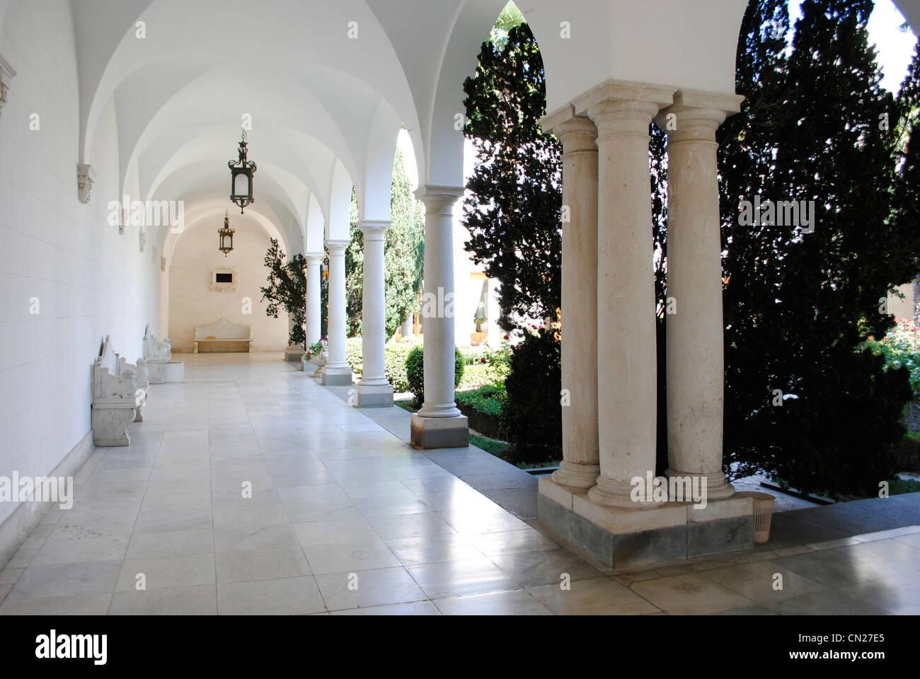 Ukraine. Autonomous Republic of Crimea. Livadia Palace. Summer retreat of Nicholas II. Neo-Renaissance. By Nikolai - Stock Image