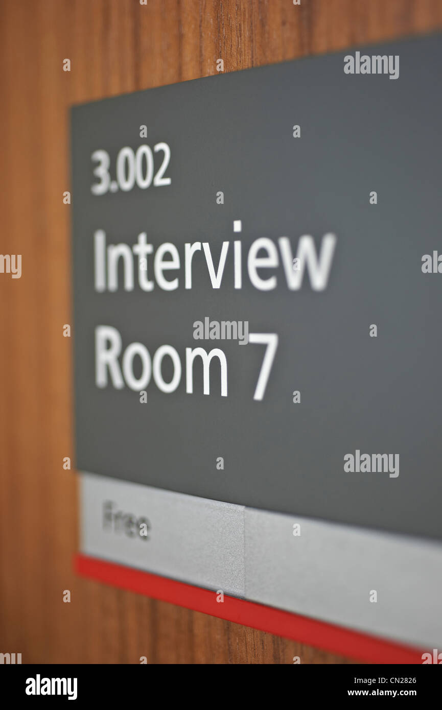 Interview - Stock Image