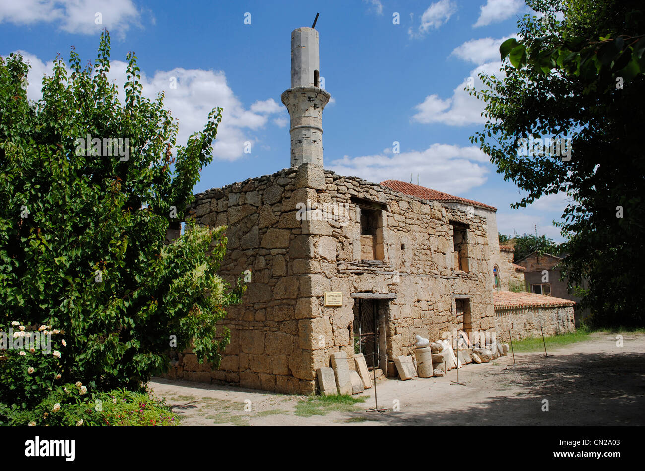 Ukraine. Autonomous Republic of Crimea. Yevpatoria. Dervish Tekke monastery. 15th century. Exterior. - Stock Image
