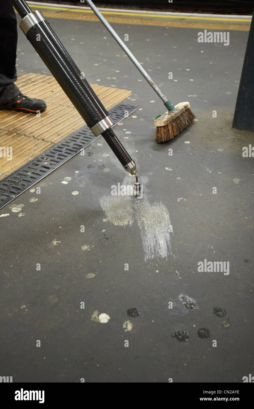 Street cleaning - Stock Image