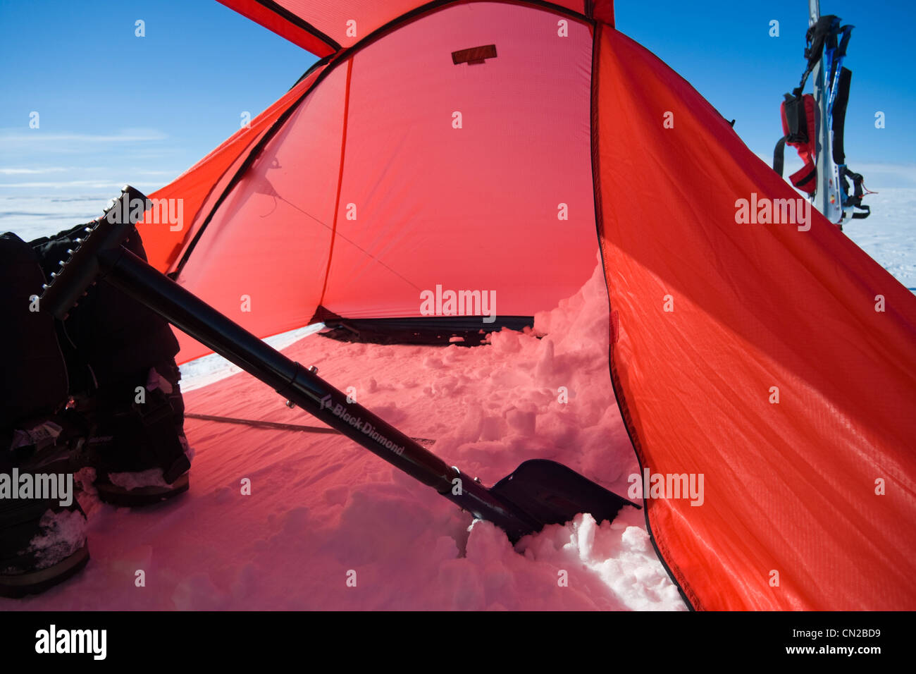 Polar expedition tent on ice cap Greenland - Stock Image & Polar Expedition Tents Tent Stock Photos u0026 Polar Expedition Tents ...