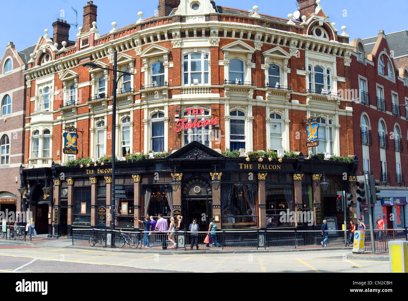 Traditional London Public House - Stock Image