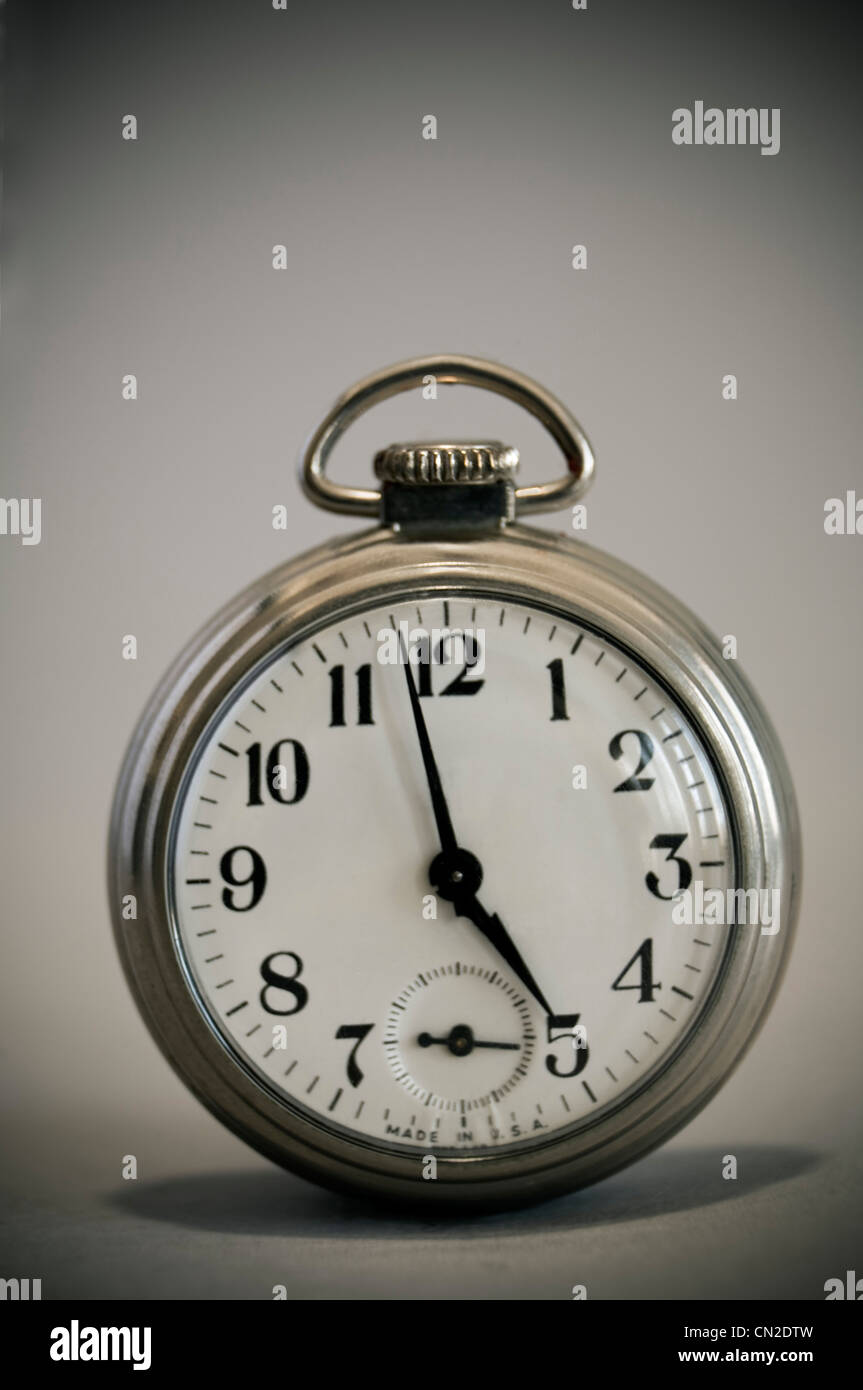 Pocket Watch - Stock Image