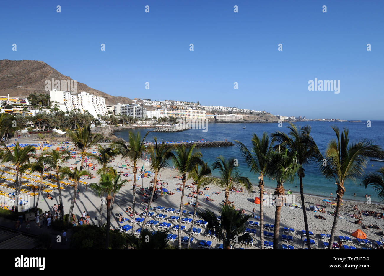 Anfi Del Mar Resort and beach, Gran Canaria, Canary Islands - Stock Image