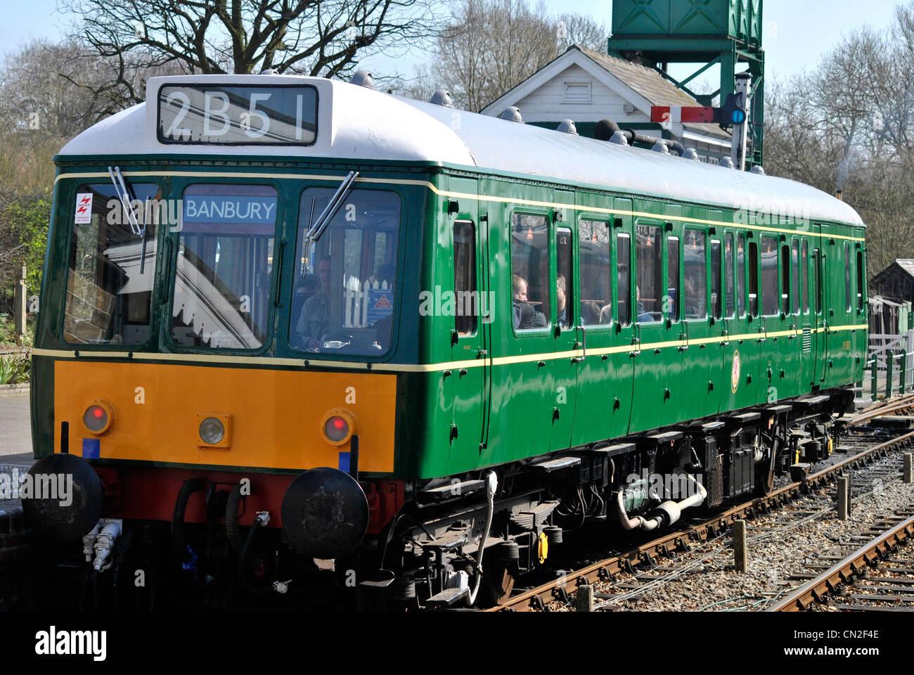 Train taken at Colne Valley Railway - Stock Image