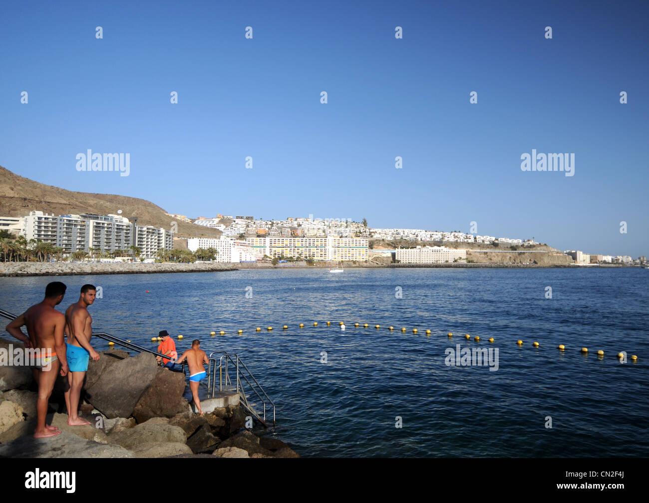Anfi Del Mar Resort, Gran Canaria, Canary Islands Stock Photo