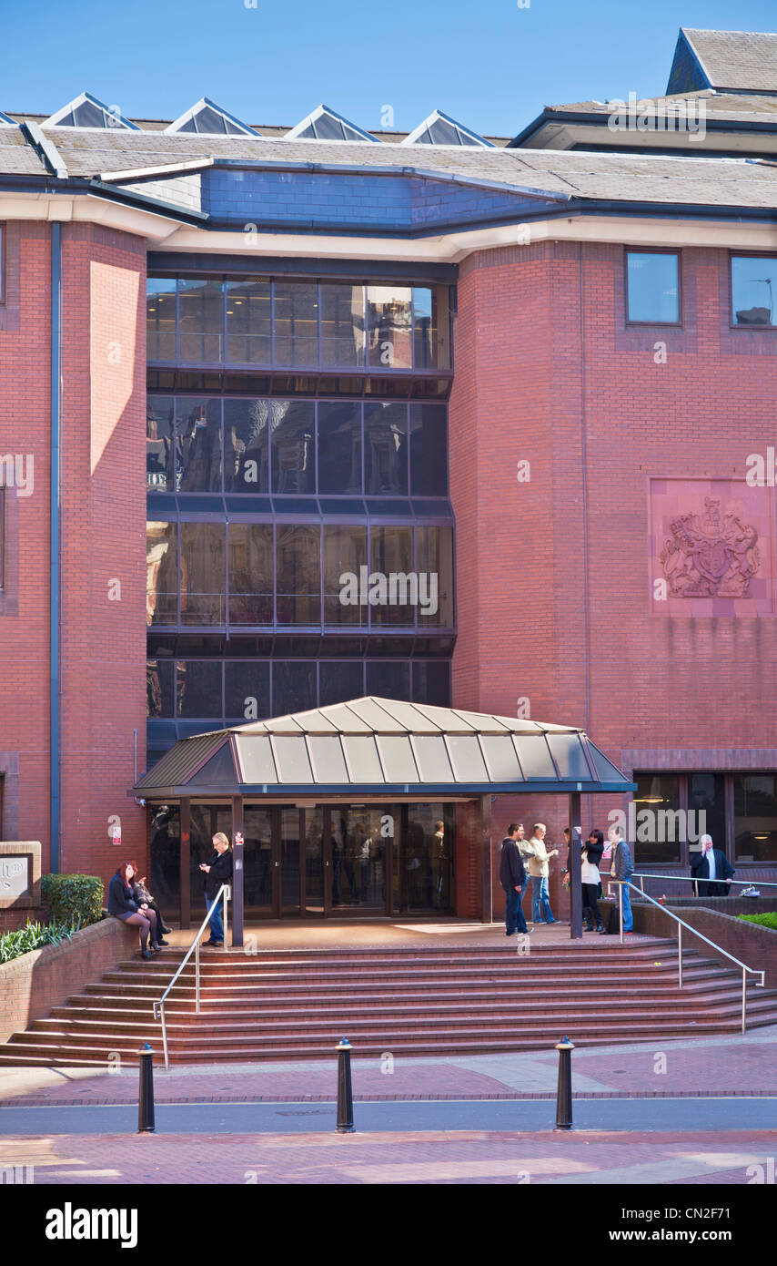 Birmingham Crown Court High Resolution Stock Photography And Images Alamy