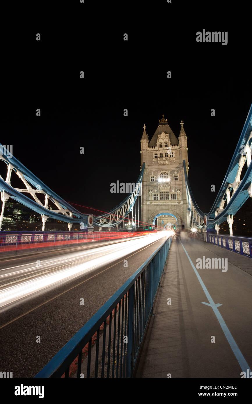Tower Bridge, London, UK - Stock Image