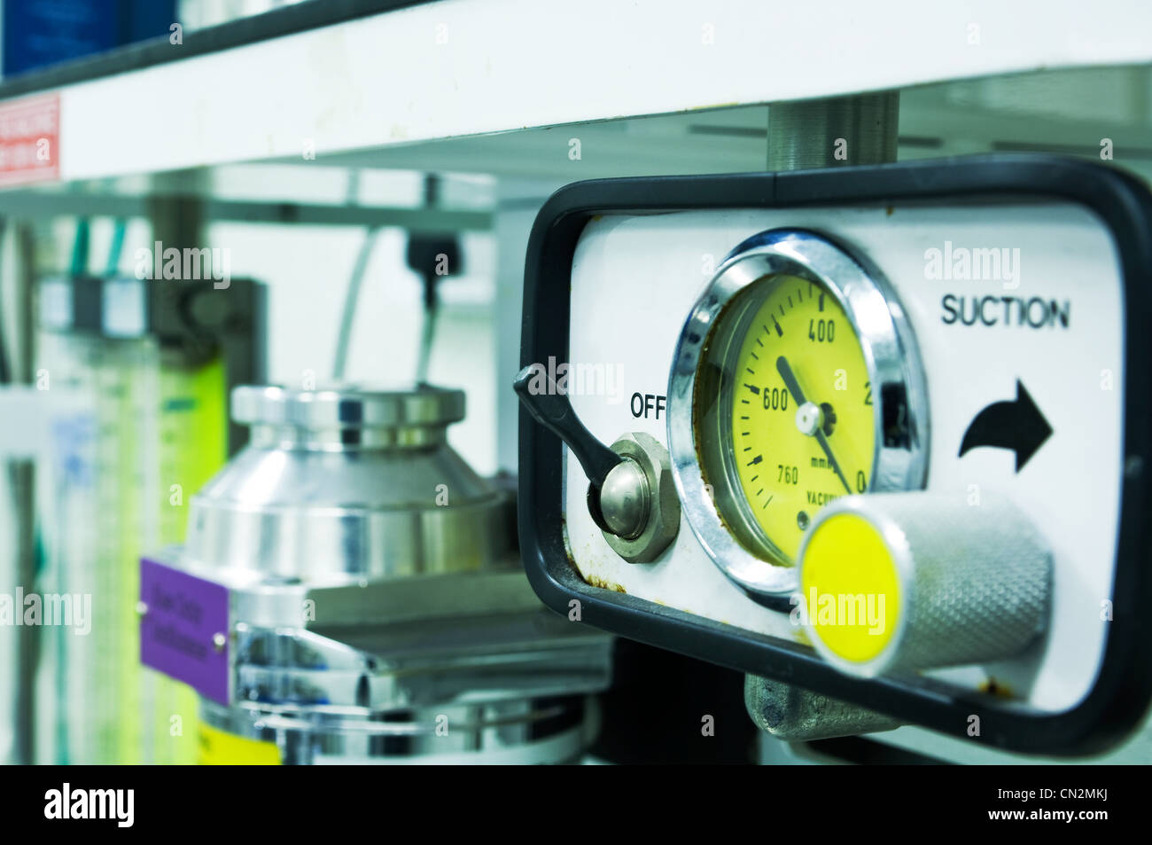 Scientific dial - Stock Image