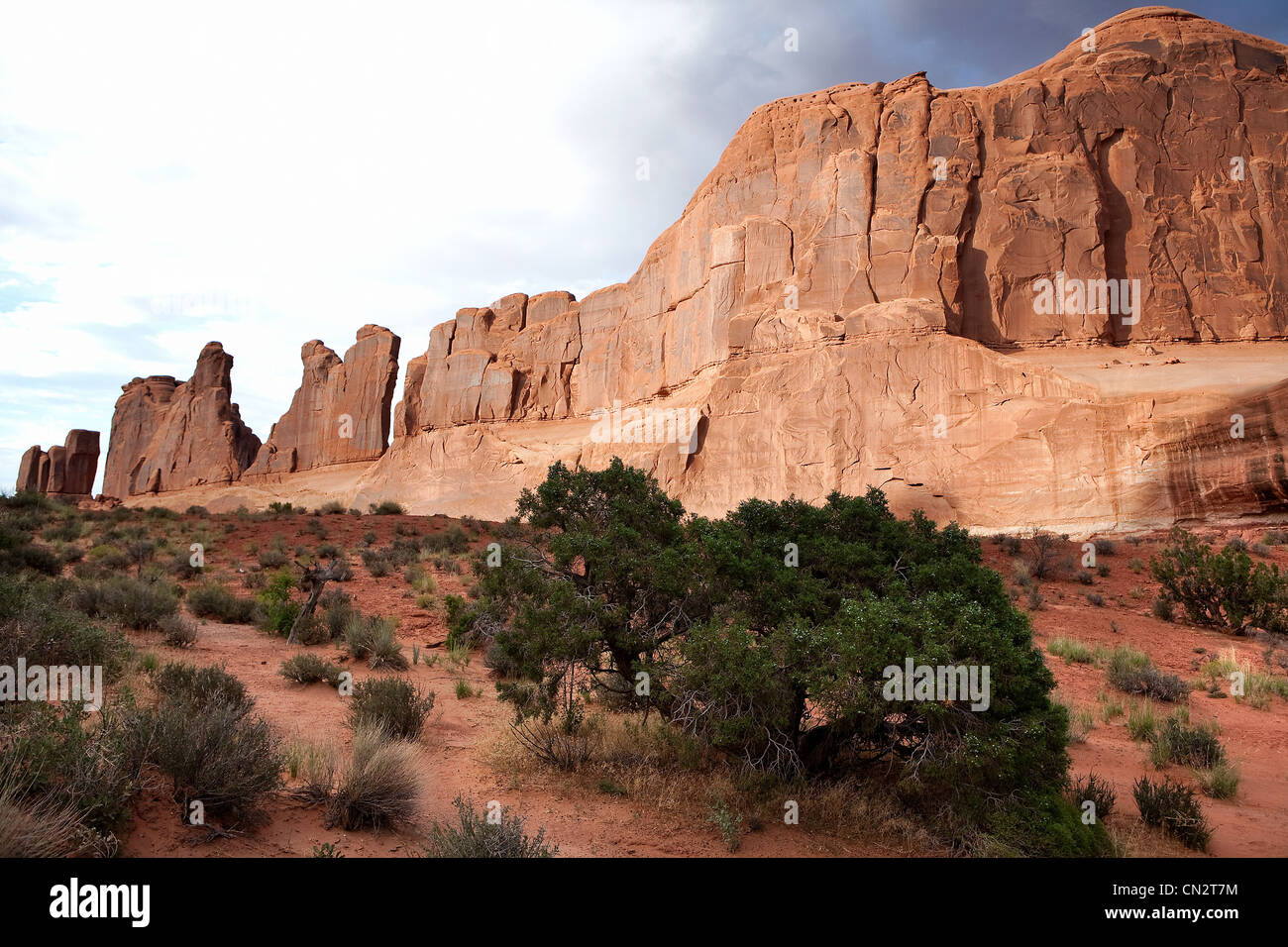 Red rocks of Moab, Utah, USA - Stock Image