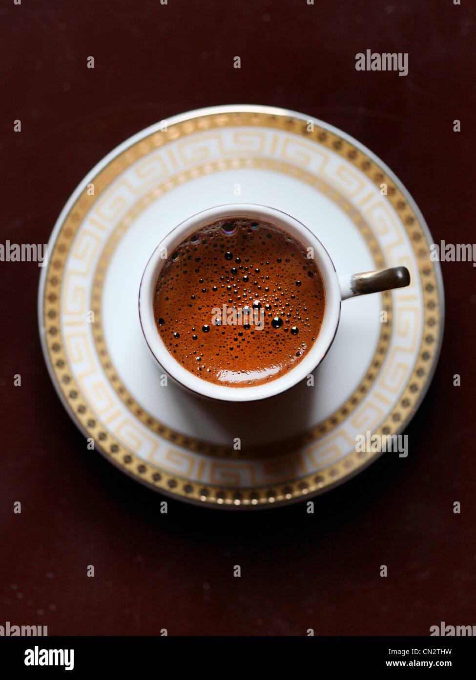 Turkish coffee - Stock Image
