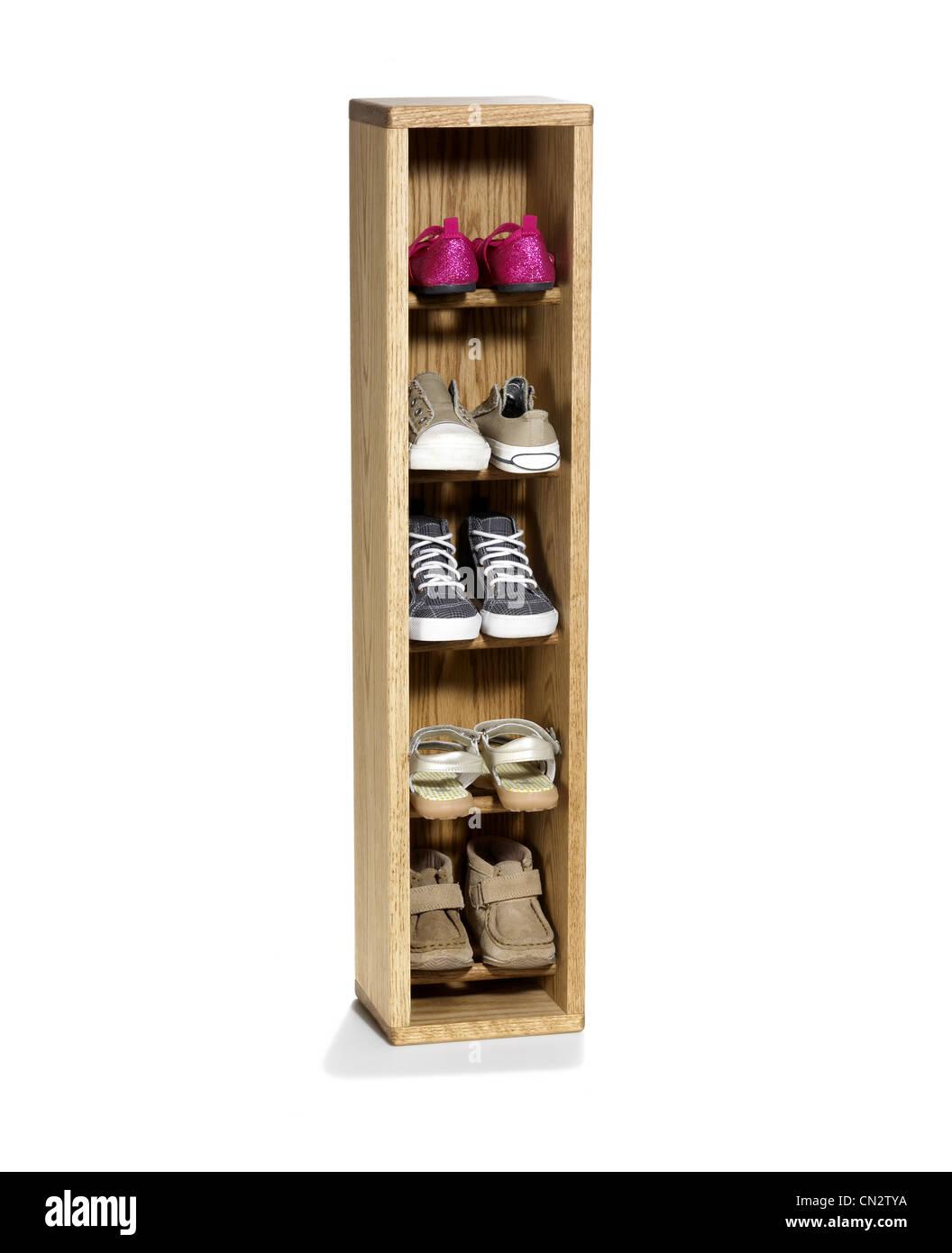 Shoe Storage - Stock Image