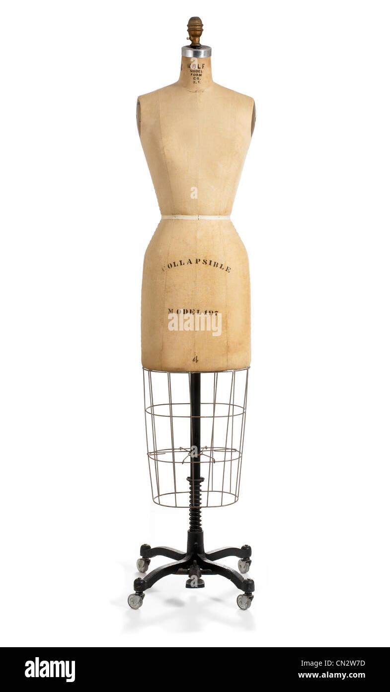 Size 4 Dress Form - Stock Image