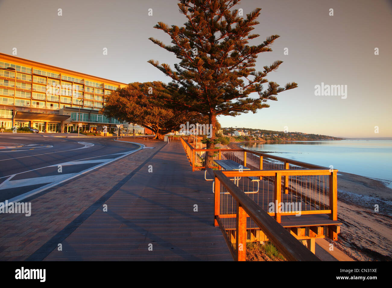 Port Lincoln foreshore - Stock Image