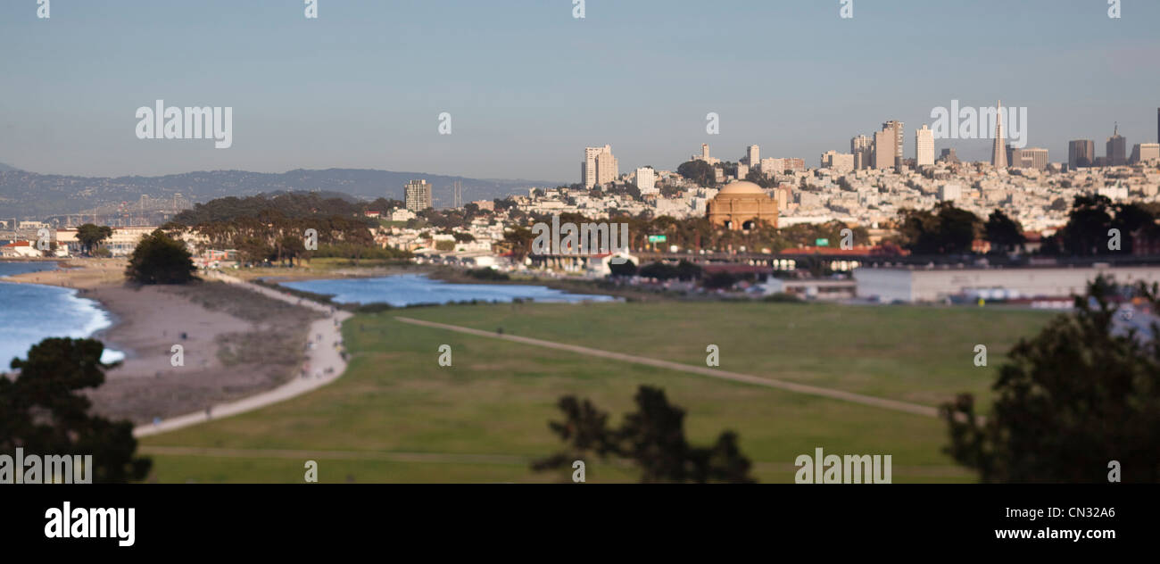 Crissy Field, Presidio of San Francisco, Golden Gate National Recreation Area, California, USA - Stock Image