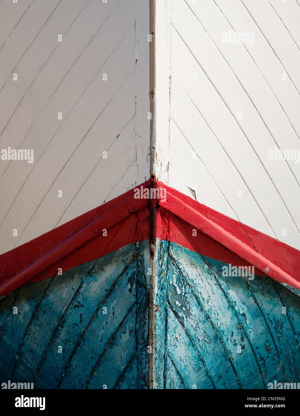 Boat abstract - Stock Image