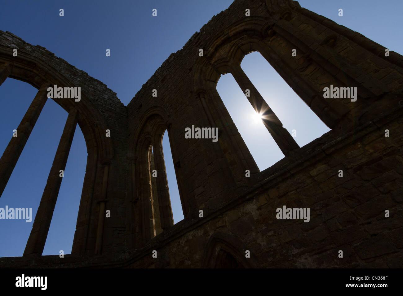 The Premonstratensian abbey of St. John the Baptist at Egglestone near Barnard Castle, Teesdale, County Durham, - Stock Image