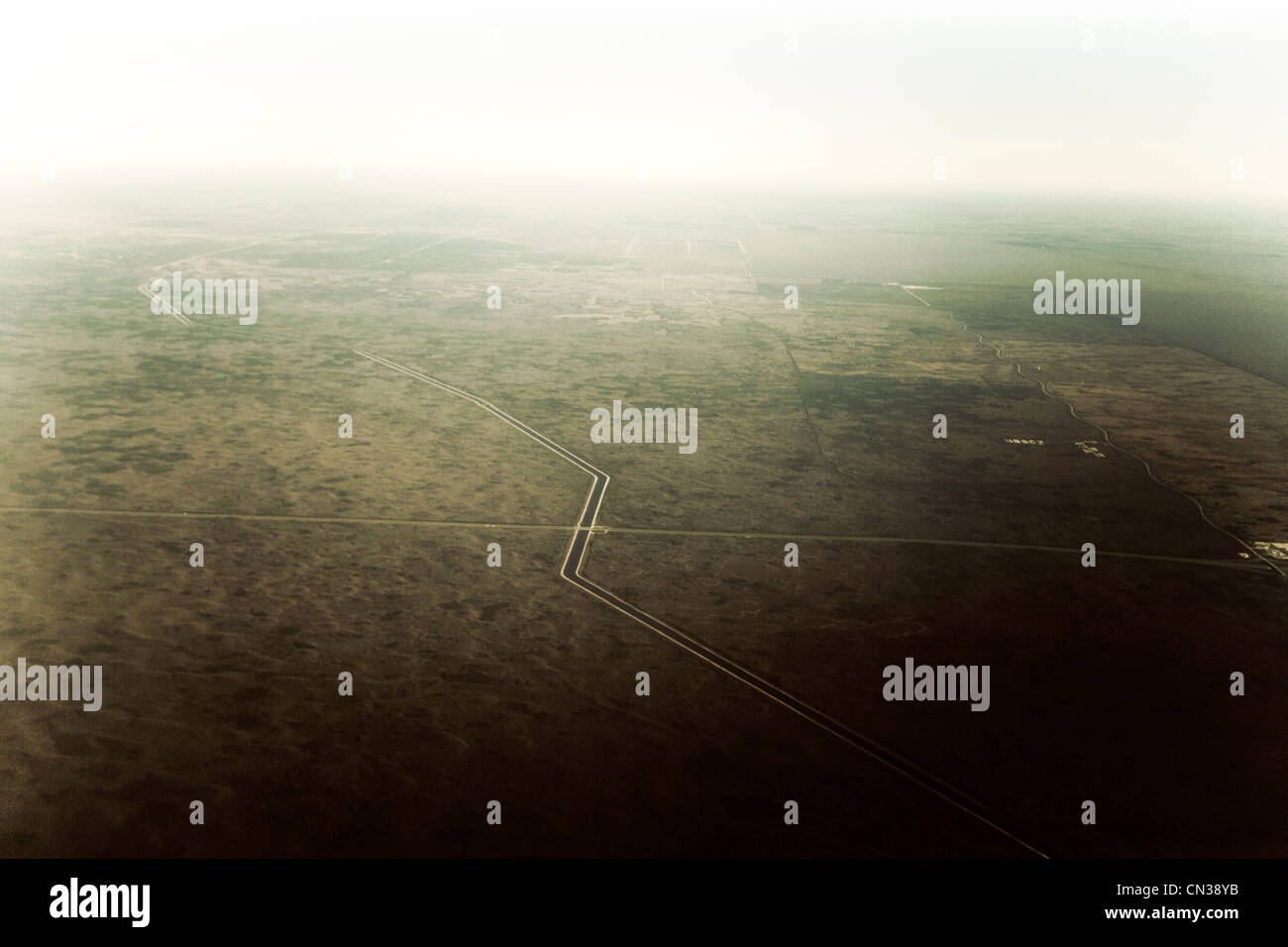 Landscape from sky Fort Lauderdale, Florida, USA Stock Photo