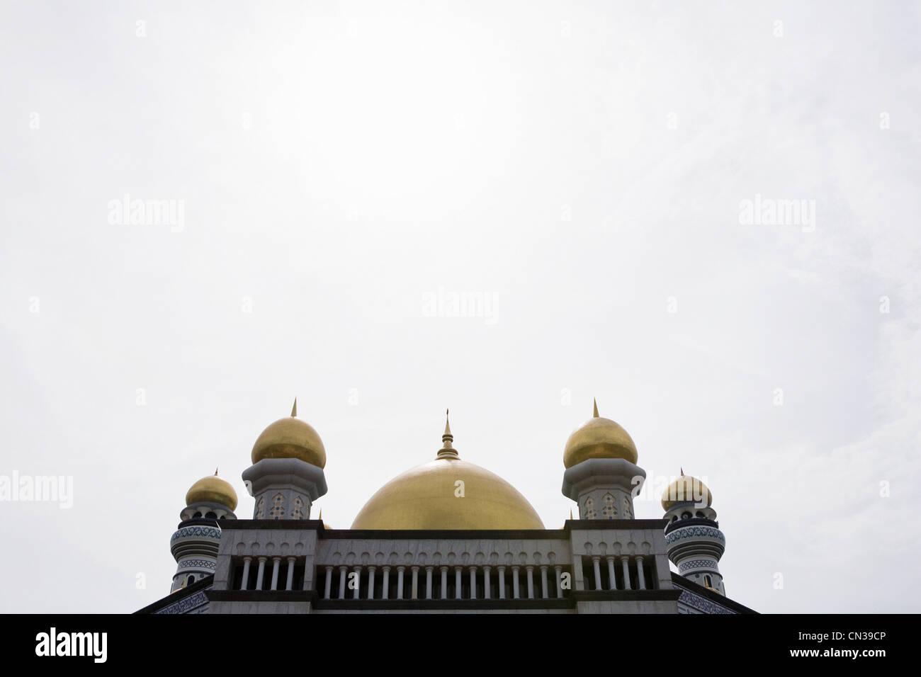 Jame' asr hassanal bolkiah mosque, Bandar Seri Bagawan, Brunei - Stock Image