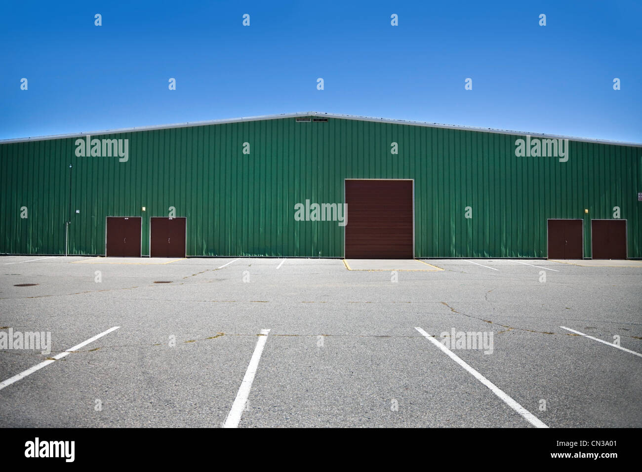 Community hall - Stock Image