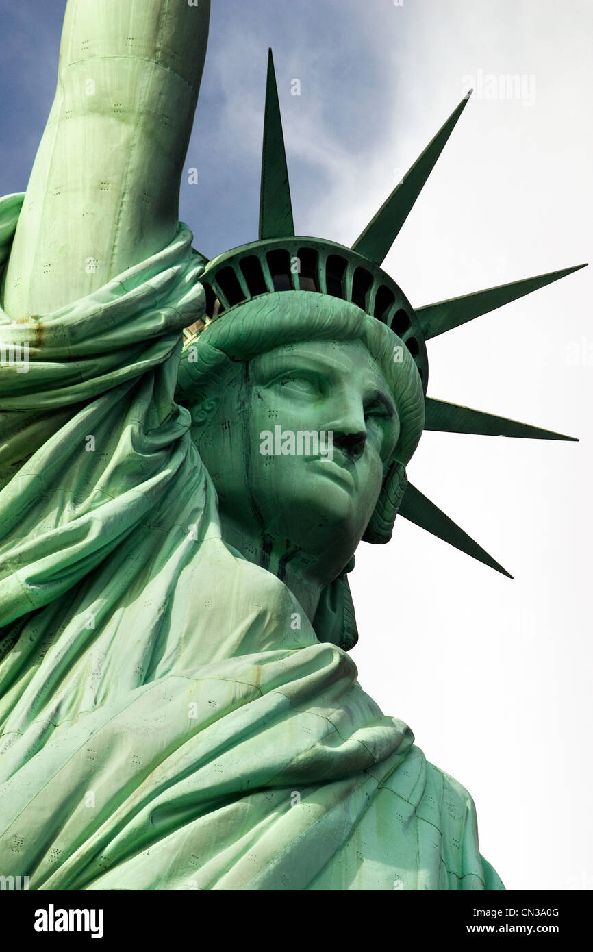 Statue of Liberty, New York - Stock Image