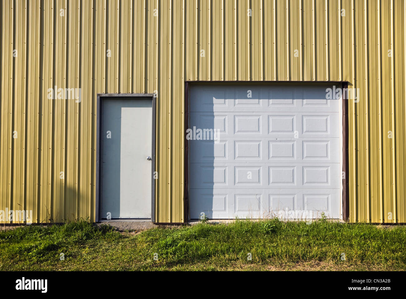 Doors in a building - Stock Image