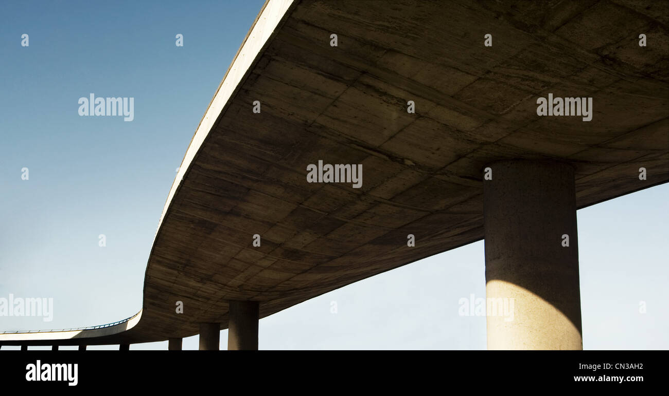 Highway flyover - Stock Image