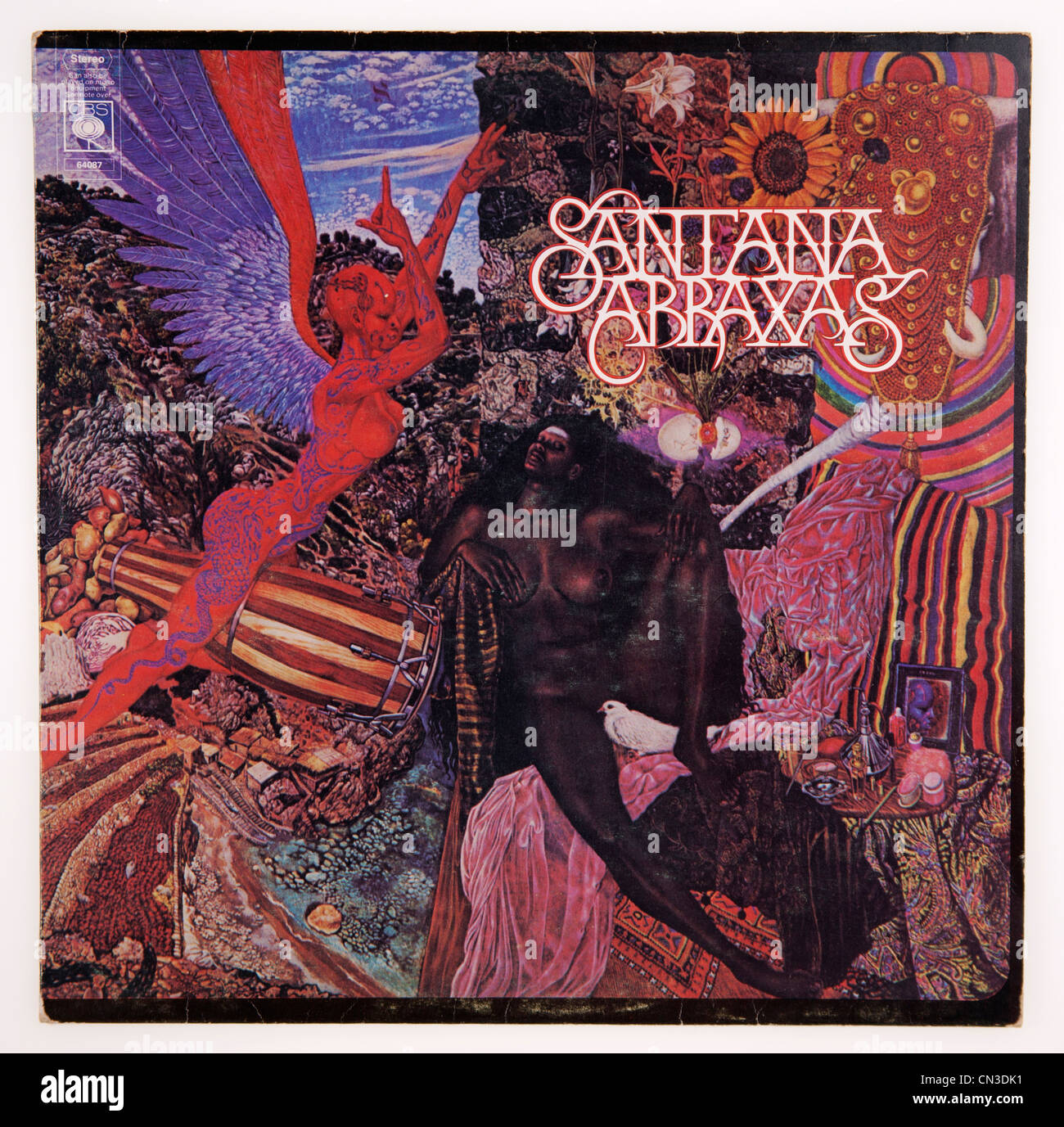 Cover of vinyl album Abraxas by Santana, released 1970 on