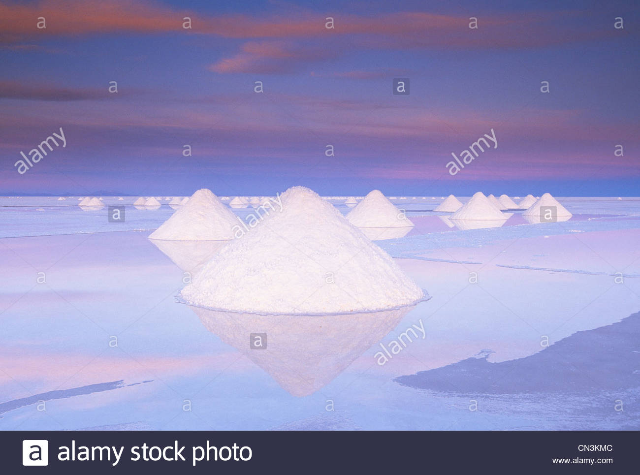 Salar de Uyuni, Altiplano, Bolivia - Stock Image
